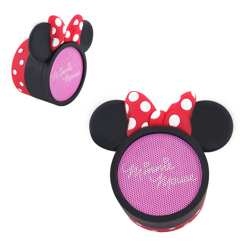 Disney迪士尼 米妮 經典人物Mini輕巧重低音藍芽喇叭