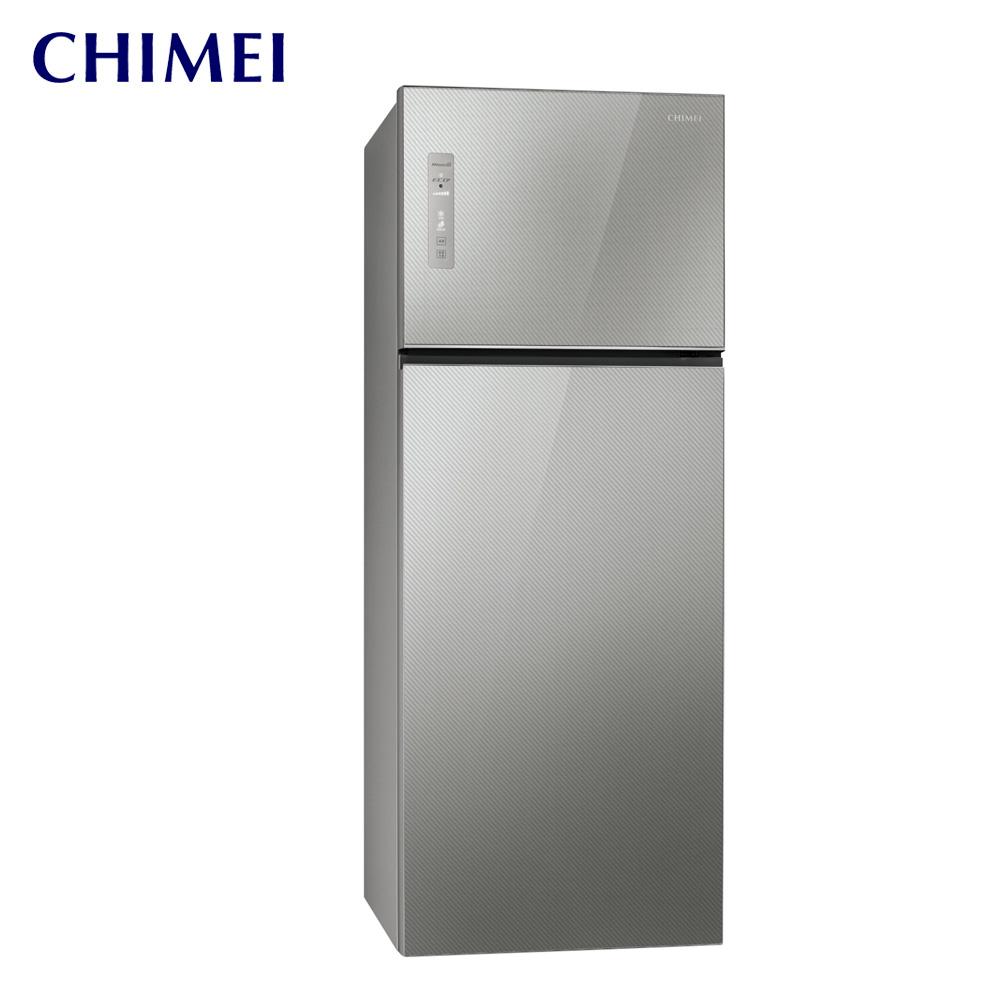 【CHIMEI奇美】485L 雙門智能省電無邊框變頻冰箱(UR-P48GB1)送基本安裝
