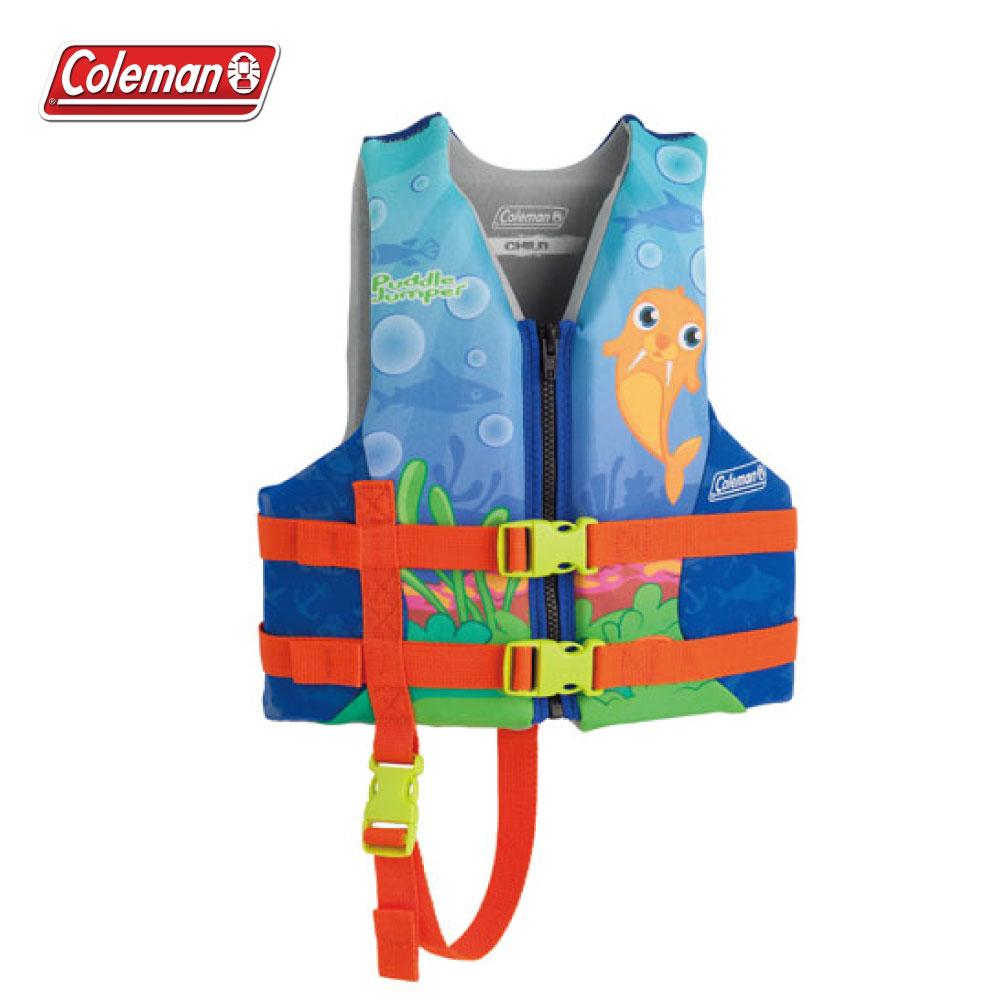Coleman PUDDLE JUMPER兒童救生衣 藍色 浮力背心.救生衣 CM-27869