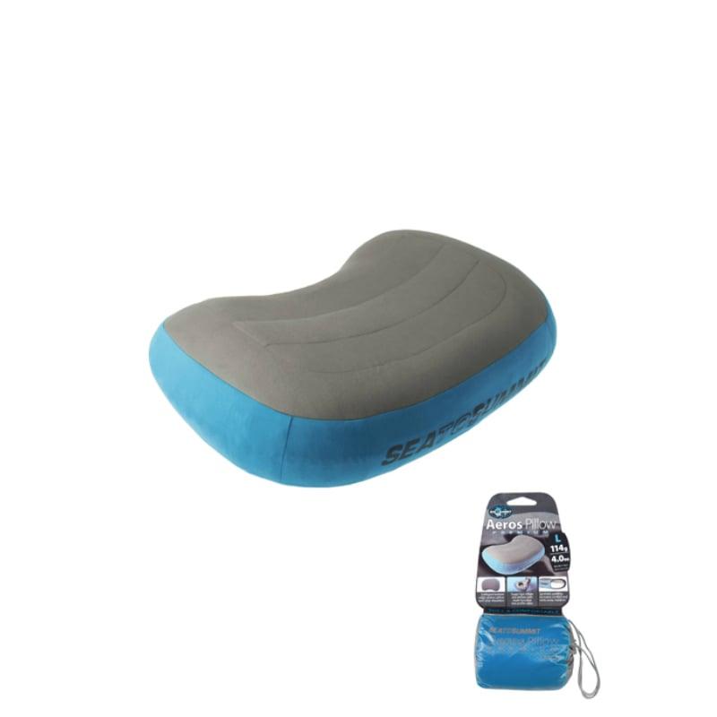 【Sea To Summit】50D 充氣枕 加大版 藍
