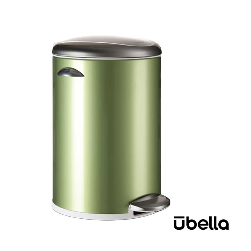 優百納12L百享系列靜音垃圾桶綠色AJ-8012GR