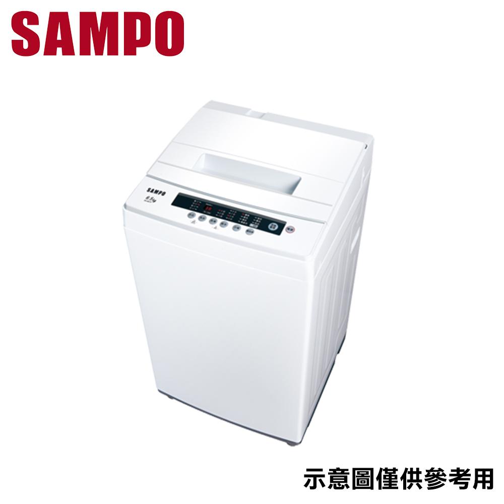 ★贈衣物收納籃【SAMPO聲寶】6.5KG定頻單槽洗衣機ES-B07F