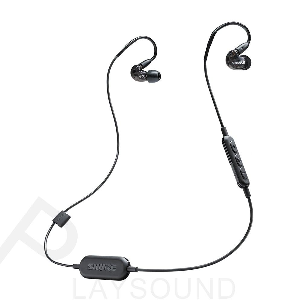 SHURE SE215 Wireless 黑色 可換線 耳道式 藍牙耳機 SE215-CL-BT1