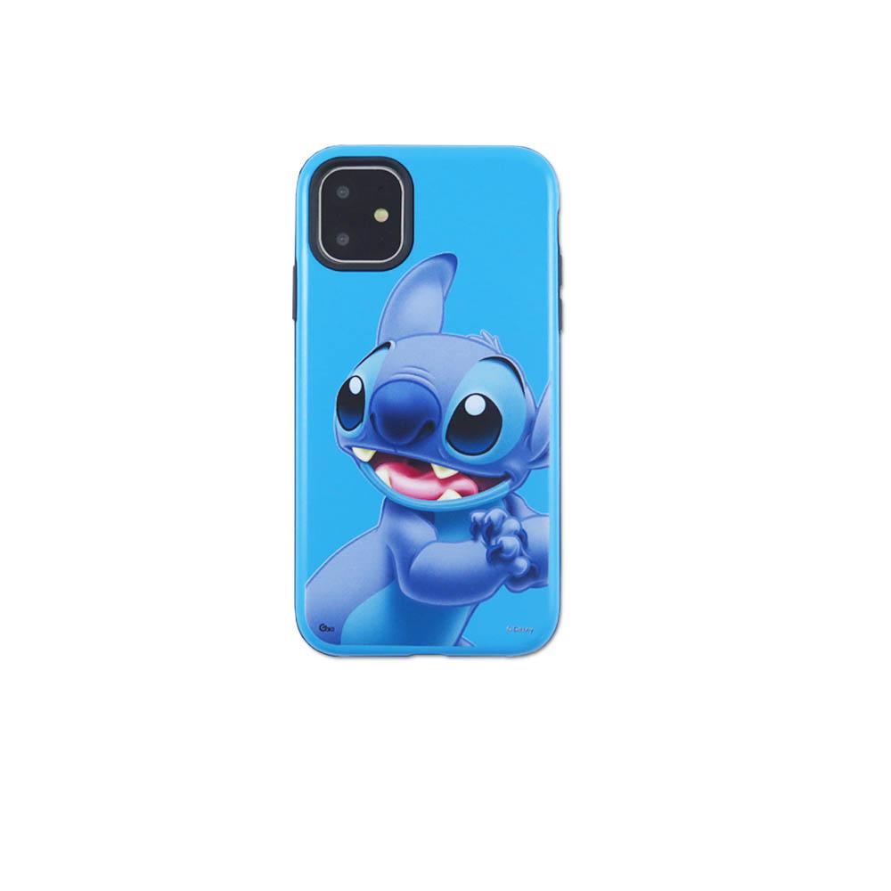 Disney迪士尼iPhone11系列磨砂雙料殼_史迪奇