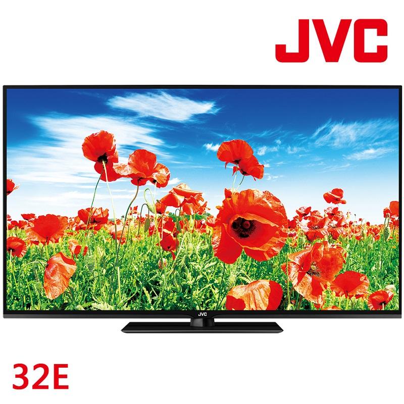 JVC 32吋 LED液晶顯示器+視訊盒(32E)
