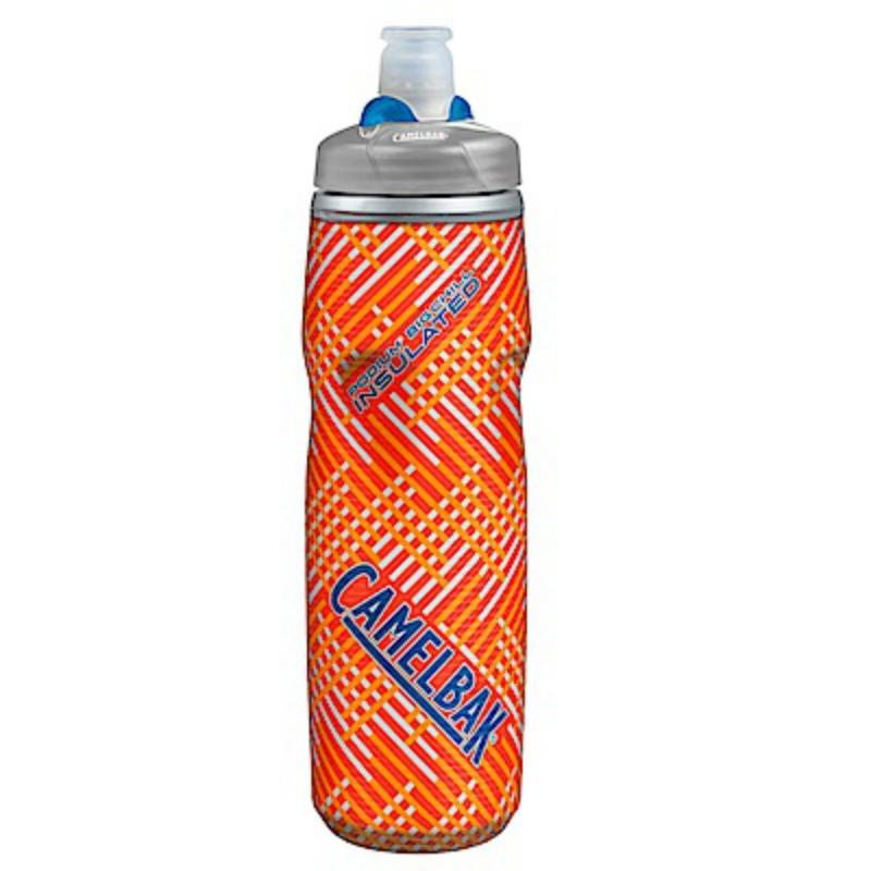 【美國 CAMELBAK】750ml 加大保冷噴射水瓶 罌粟紅