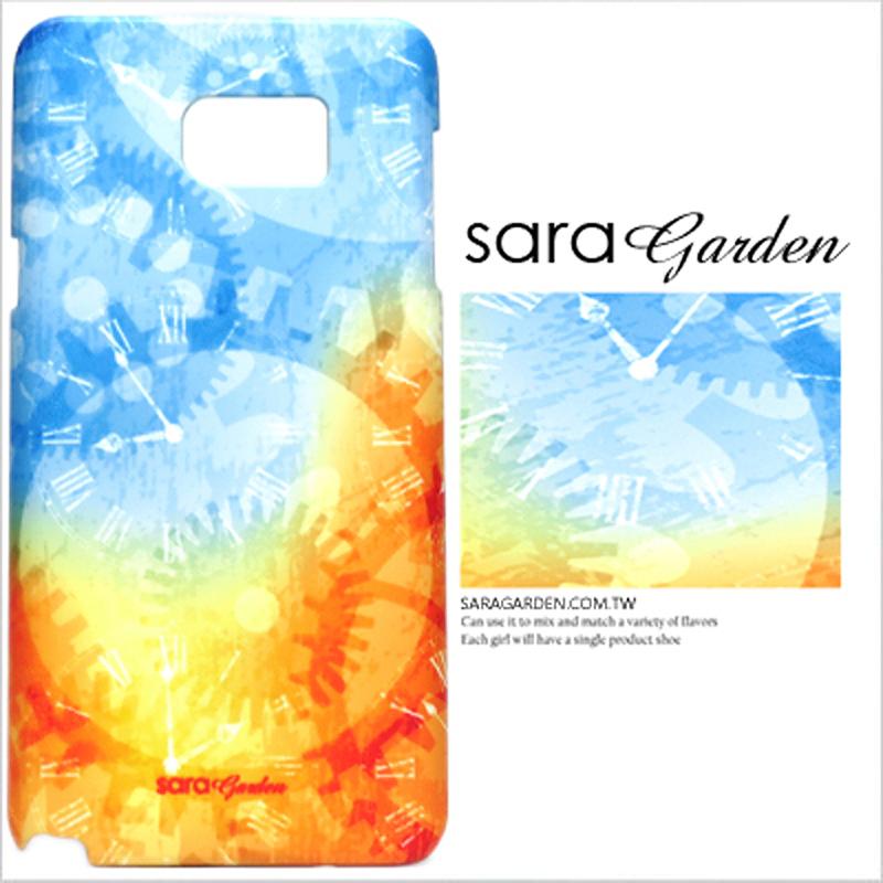 【Sara Garden】客製化 手機殼 Samsung 三星 A7 2017 渲染 時間 齒輪 紋路 保護殼 硬殼