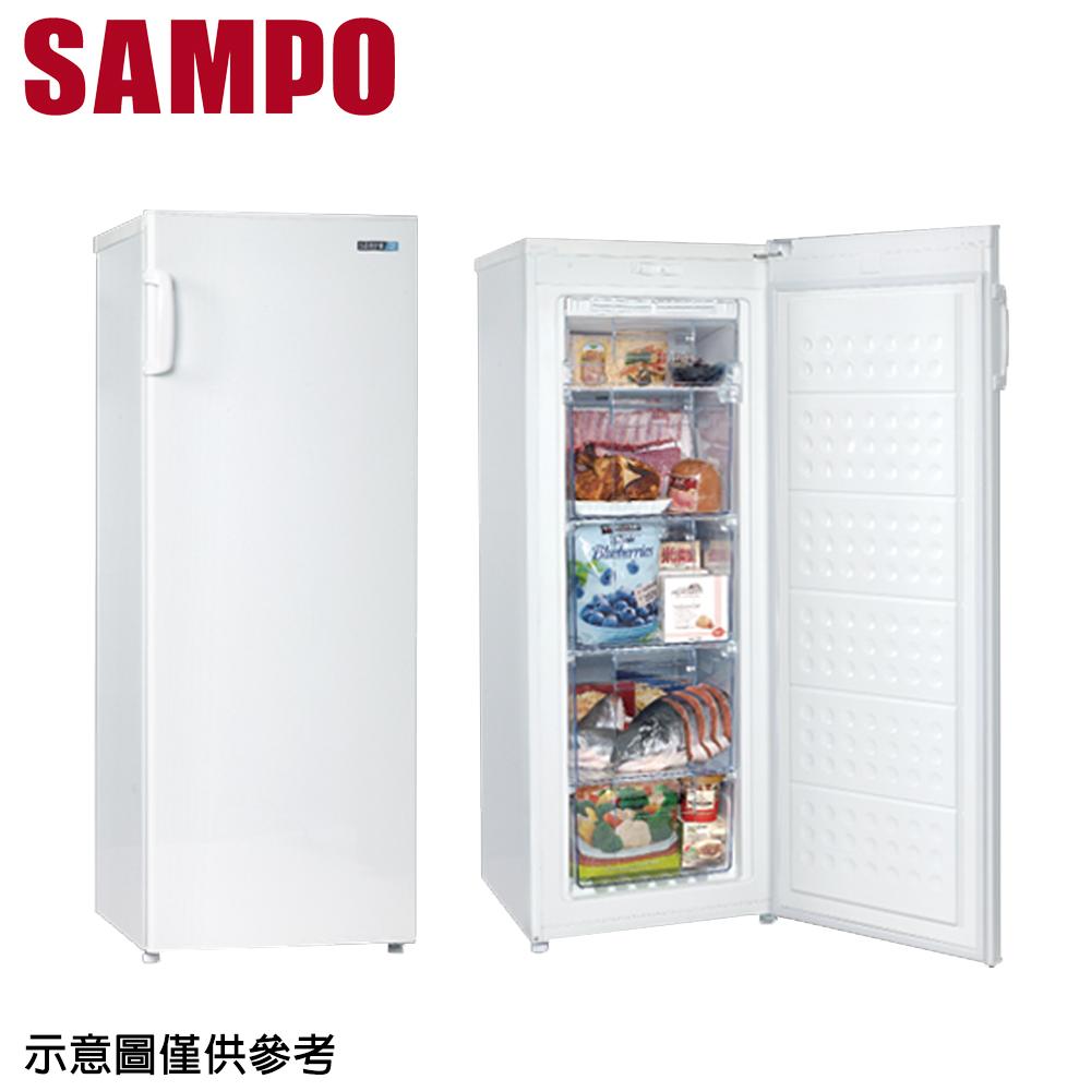 【SAMPO聲寶】170公升直立式冷凍櫃SRF-170F