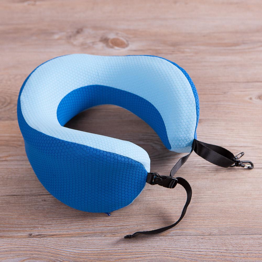 機能透氣頸枕-藍色-生活工場