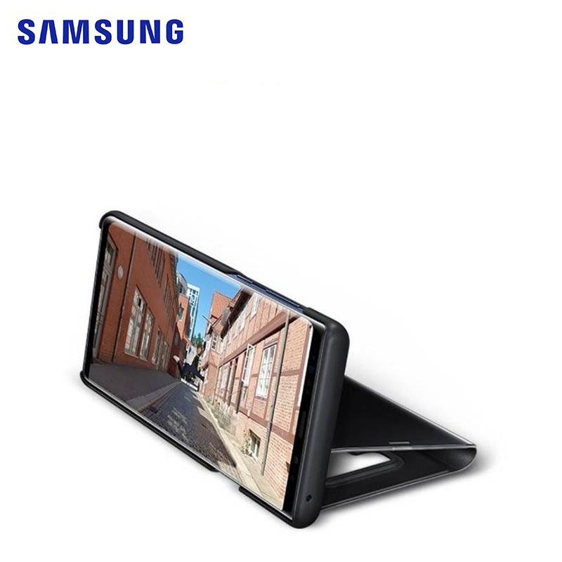 Samsung Galaxy Note 9 原廠全透視感應皮套 (紫色)