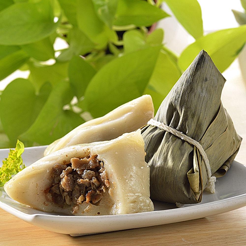 預購《台灣好粽》客家香菇粿粽5入(附提盒)