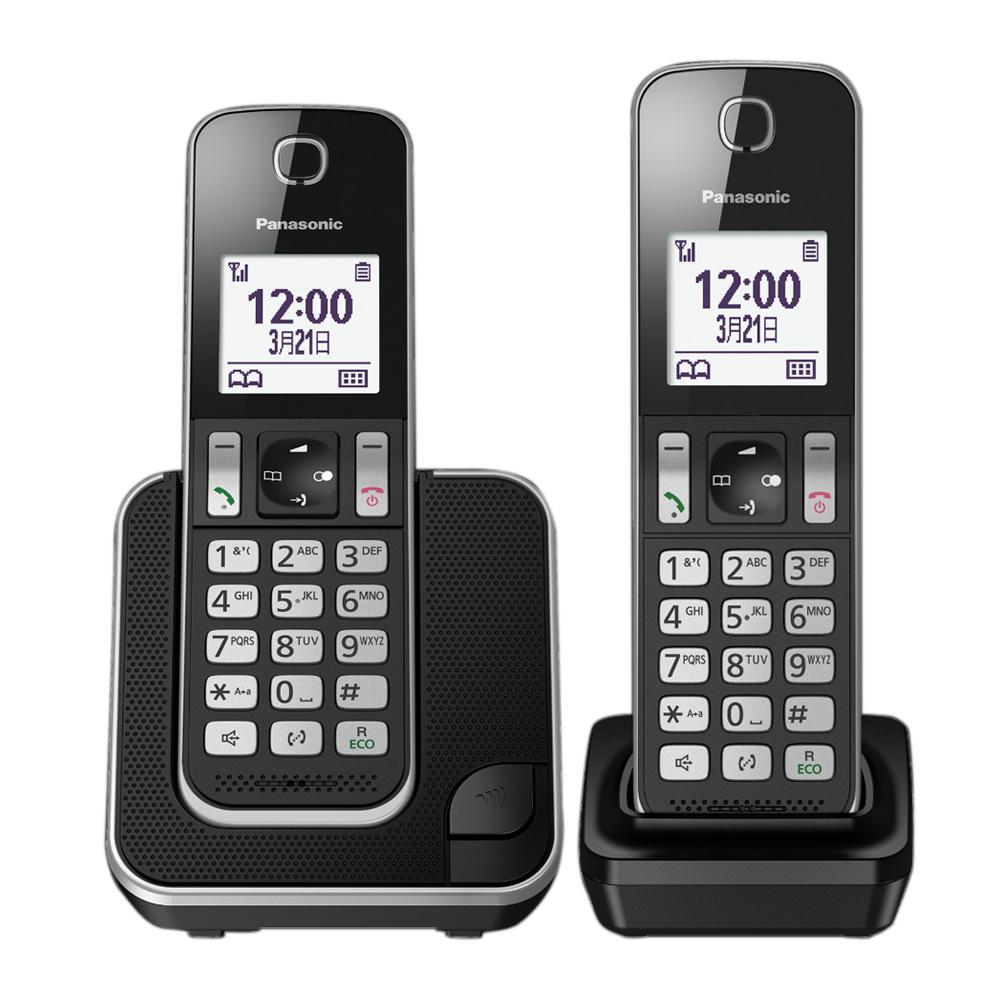 【贈負離子梳】Panasonic 國際牌 KX-TGD312TW DECT數位無線電話