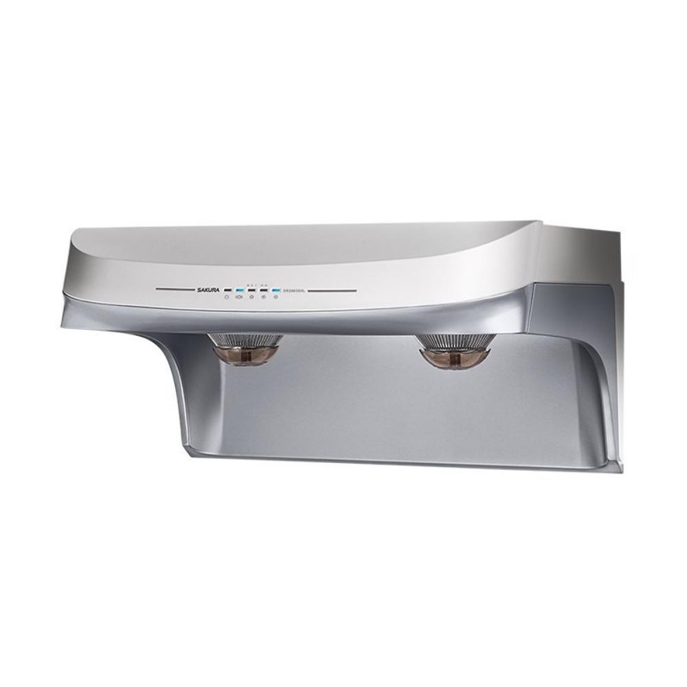 【櫻花 SAKURA】流線型除油煙機-渦輪變頻 智能風控系列 90cm DR3883SL (全台標準安裝,安裝費由現場安裝人員收取)