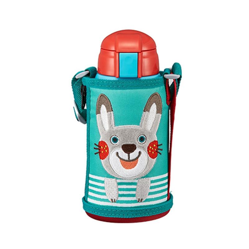TIGER虎牌 600cc兒童兩用功能保溫杯保溫瓶(MBR-T06G兔子)