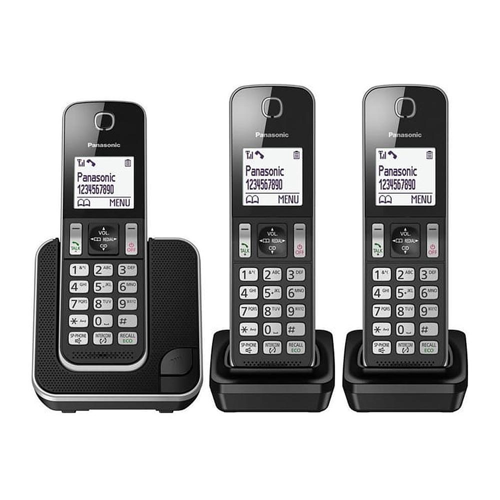【贈負離子梳】Panasonic 國際牌 KX-TGD313TW DECT數位無線電話