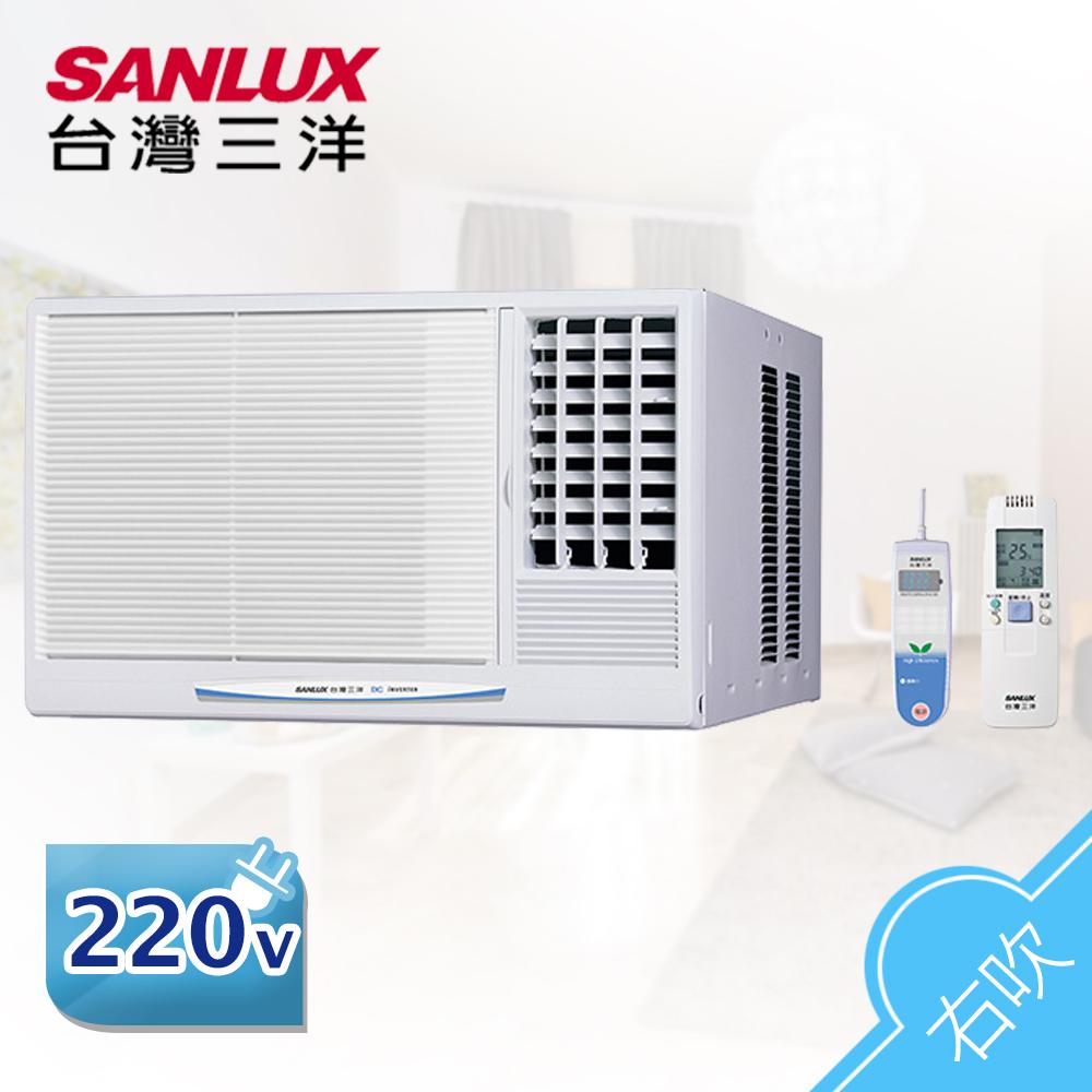 【SANLUX台灣三洋】 6-8坪右吹式變頻窗型空調/冷氣 SA-R41VE (含基本安裝)