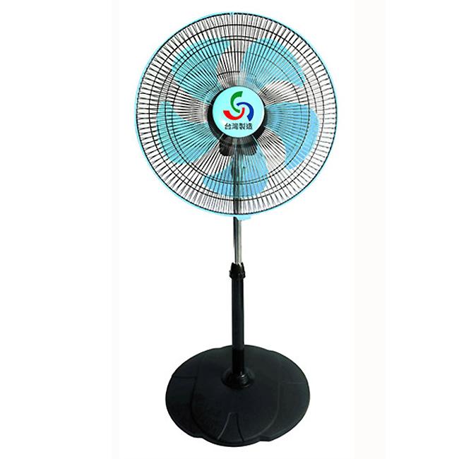 【金展輝】16吋超廣角循環涼風扇(水藍) A-1611