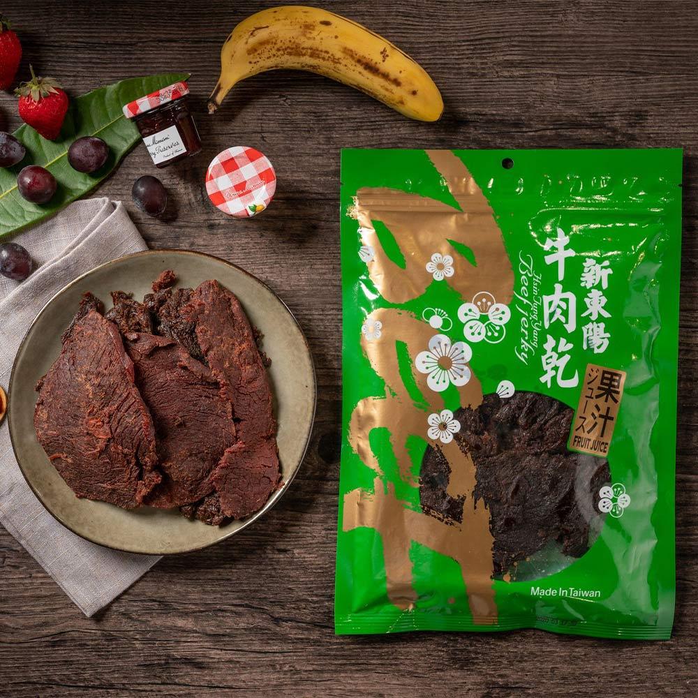 【新東陽】果汁牛肉乾 (230g*2包)