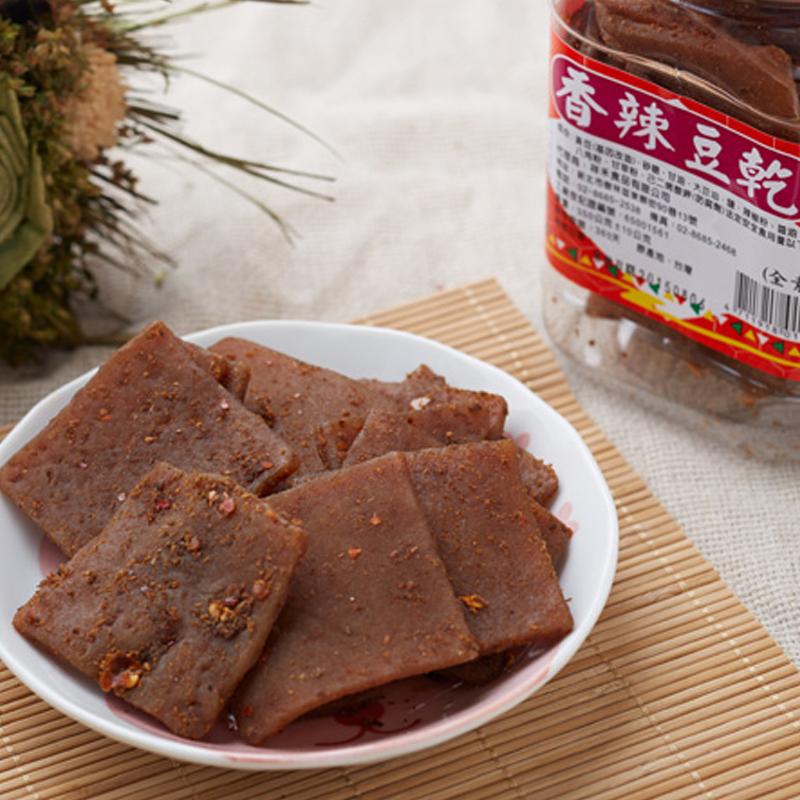 祥禾 台灣味香辣豆乾(全素) 450g