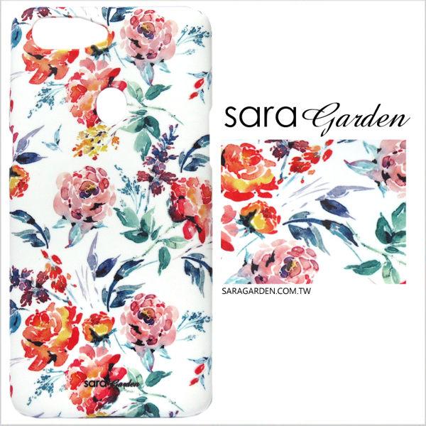 【Sara Garden】客製化 手機殼 Samsung 三星 Note8 手繪漸層碎花 手工 保護殼 硬殼