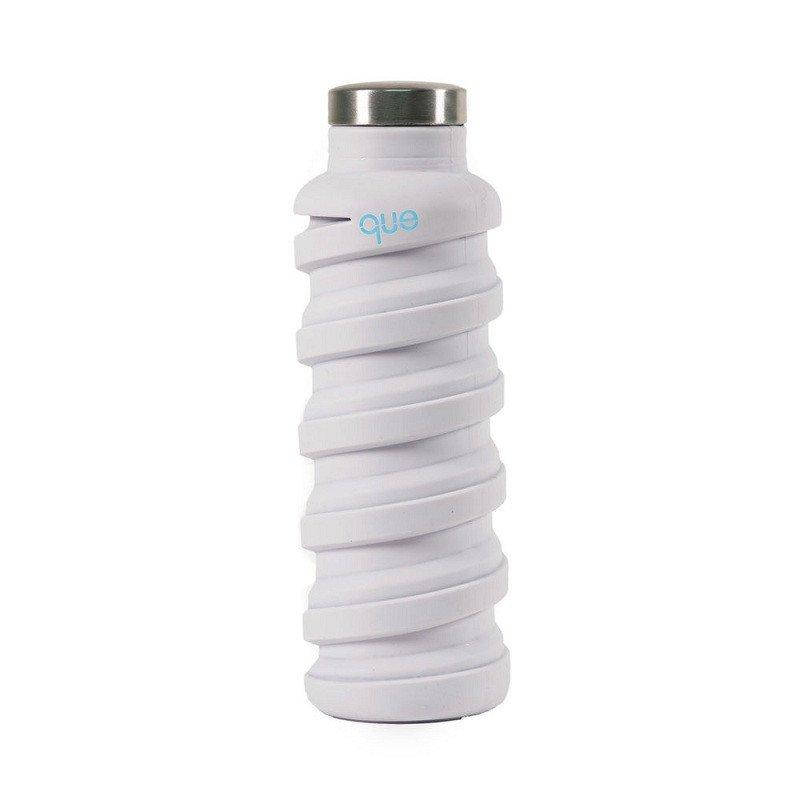 que Bottle 伸縮水瓶(600ml) -香草白