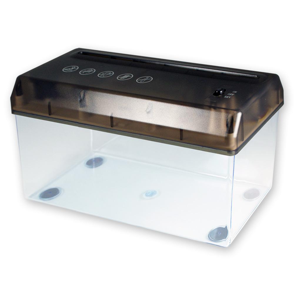 A4 USB 輕便電動碎紙機-黑色