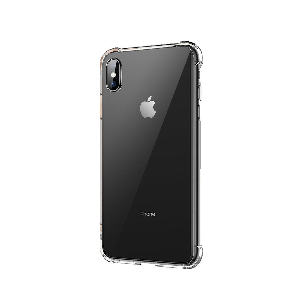 LEEU DESIGN Apple iPhone XR 傲熊冰封 氣囊鋼化玻璃殼