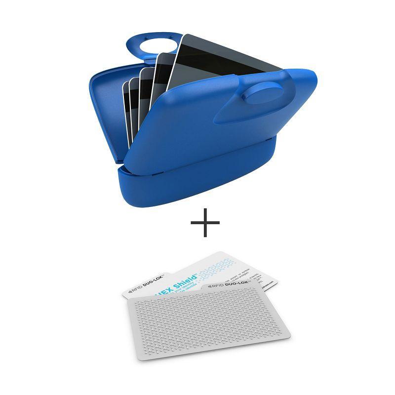 加拿大 Capsul + Duo-Lok RFID 防盜錄卡(2張) - 藍
