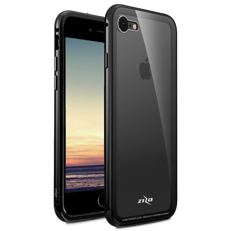 【Zizo】Atom系列 iPhone7/8 共用版4.7吋 軍規防摔手機殼 黑