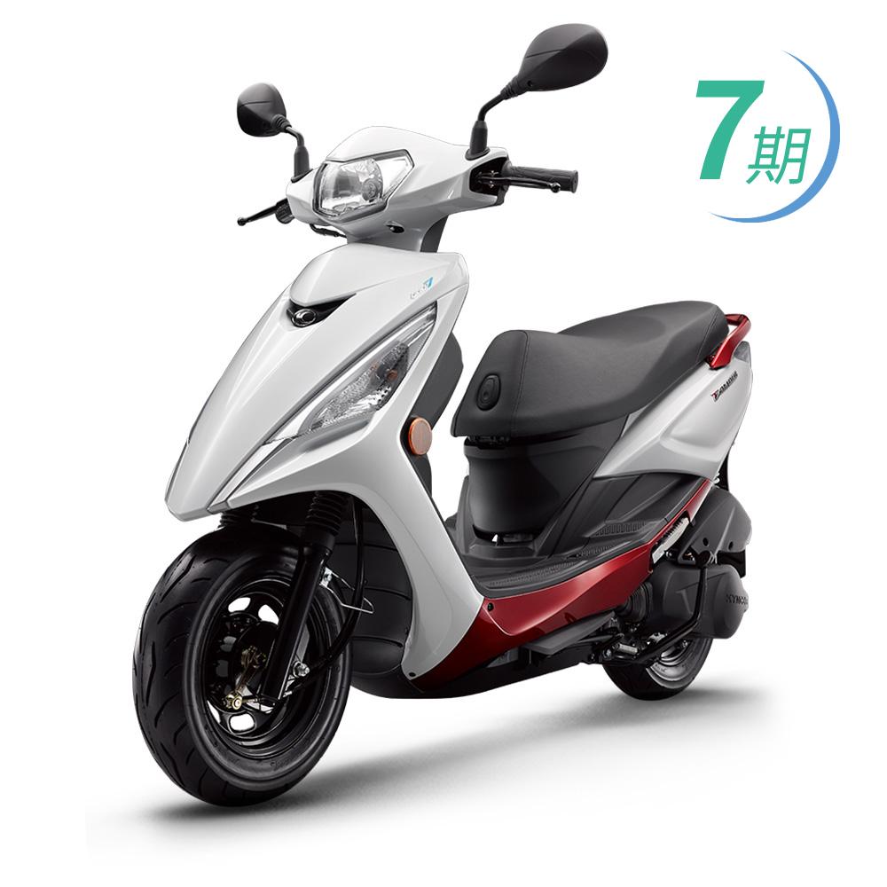 【KYMCO光陽】FAMOUS 新名流125 鼓煞(七期) SJ25TG(2019年新車)