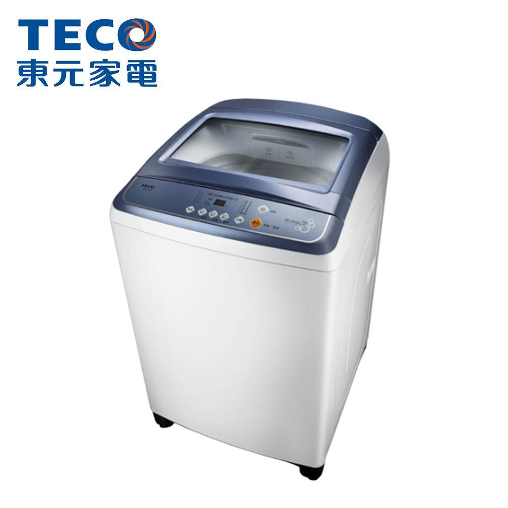 【TECO東元】14公斤定頻直立式洗衣機W1417UW