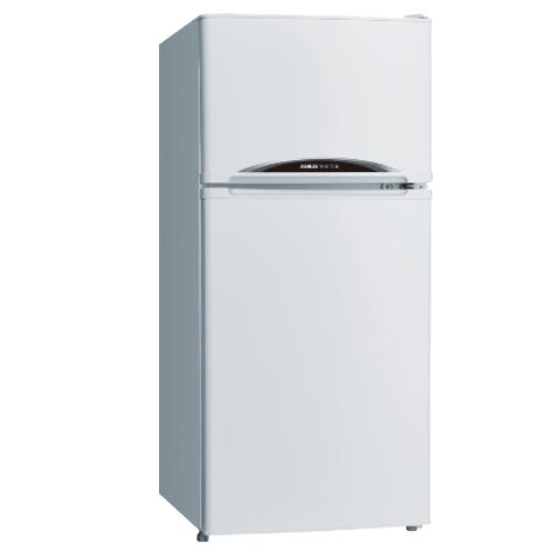 【台灣三洋SANLUX】128公升雙門風扇冰箱 SR-C128B1