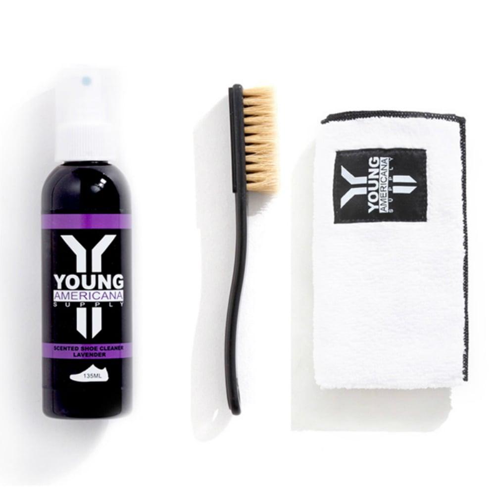 【Y.A.S】美鞋神器 基本組-洗鞋劑+擦拭布-薰衣草(AA0022)