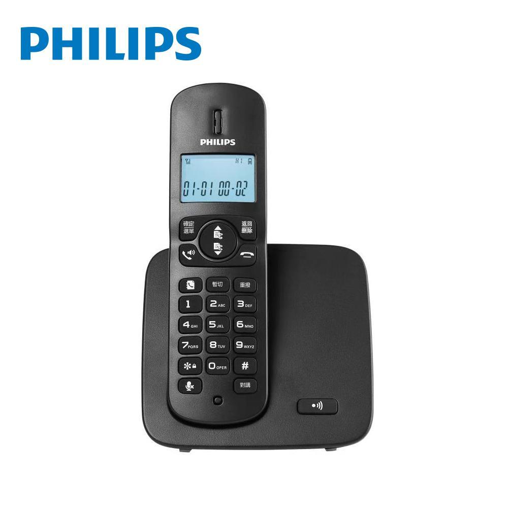 PHILIPS DCTG1861B/96 數位無線電話 黑
