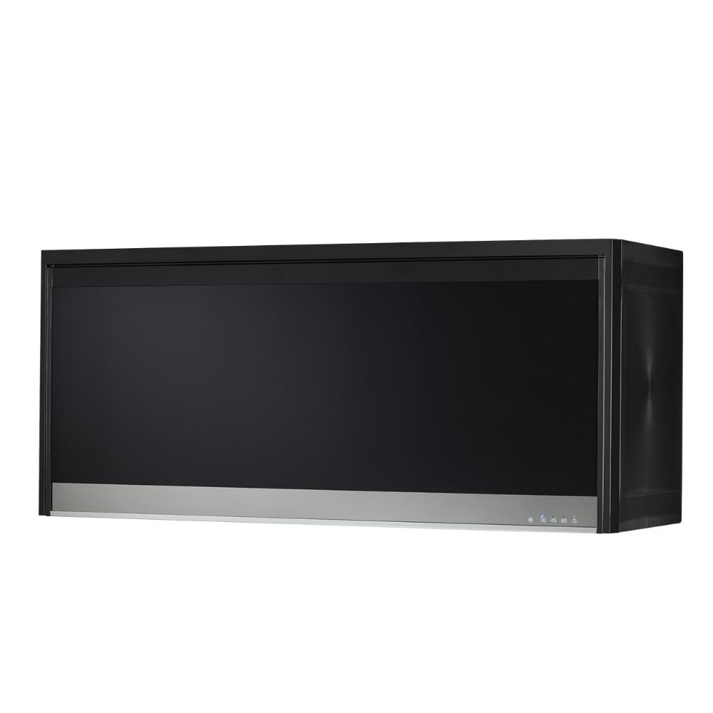 (全省安裝)林內懸掛式臭氧黑色80公分烘碗機RKD-186S(B)