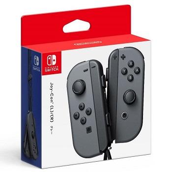 Nintendo Switch Joy-Con 控制器 左右手套組 灰