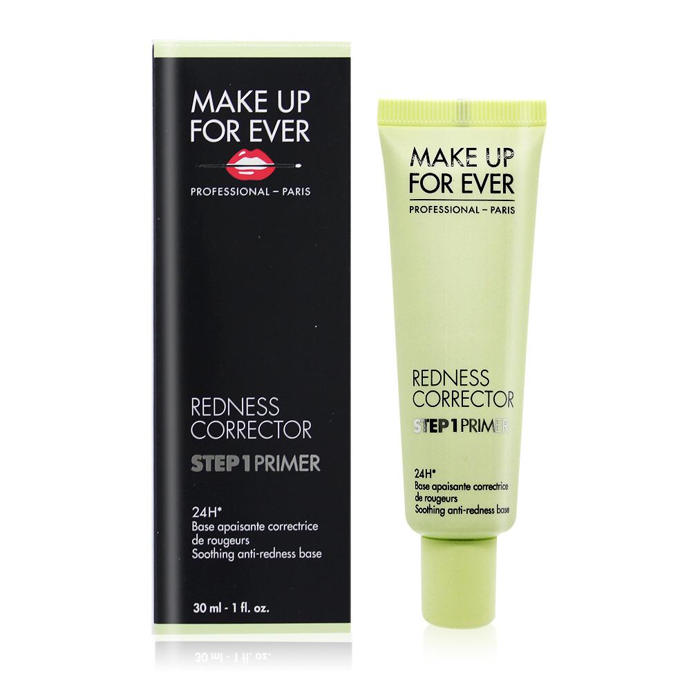 MAKE UP FOR EVER STEP 1 第一步遮泛紅 綠色妝前乳(30ml)-百貨公司貨