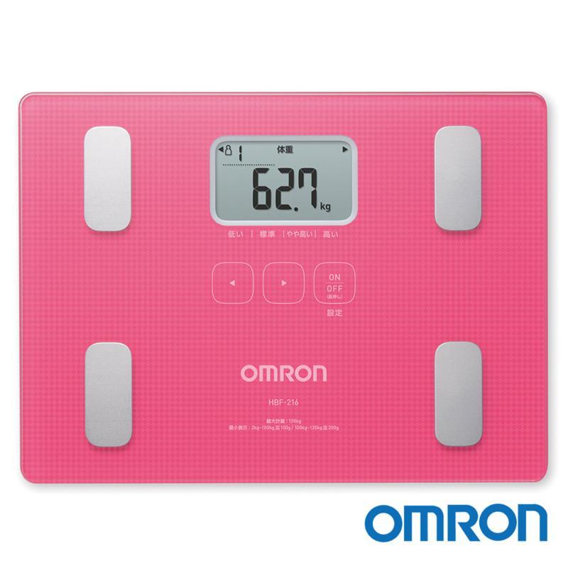 OMRON歐姆龍 體重體脂肪機 HBF-216
