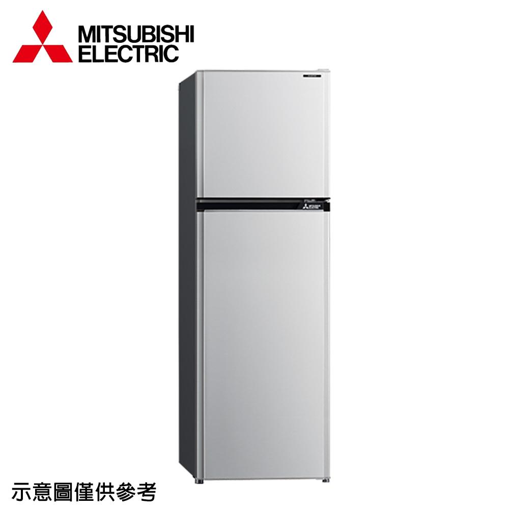【MITSUBISHI 三菱】273公升變頻雙門冰箱MR-FV27EJ-SL