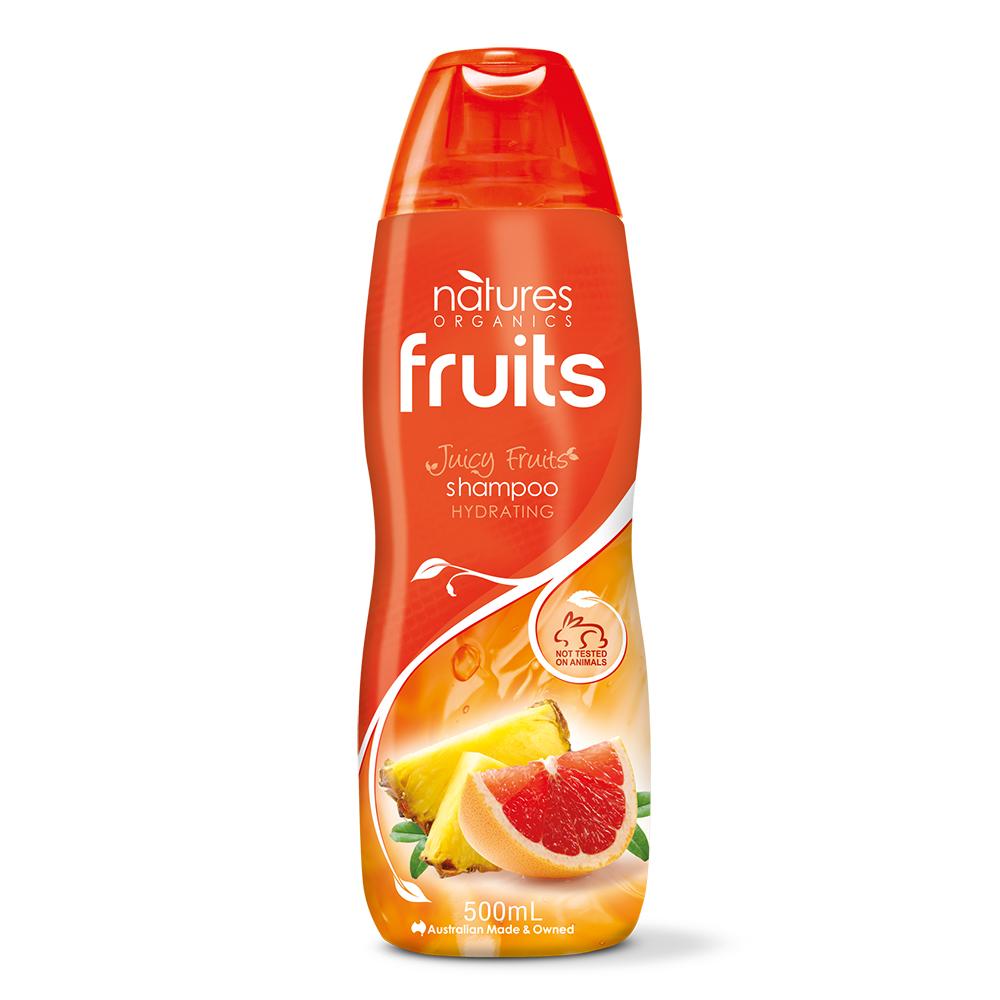 【澳洲Natures Organics】植粹高保濕洗髮精(橙)500mlx5入(即期出清)