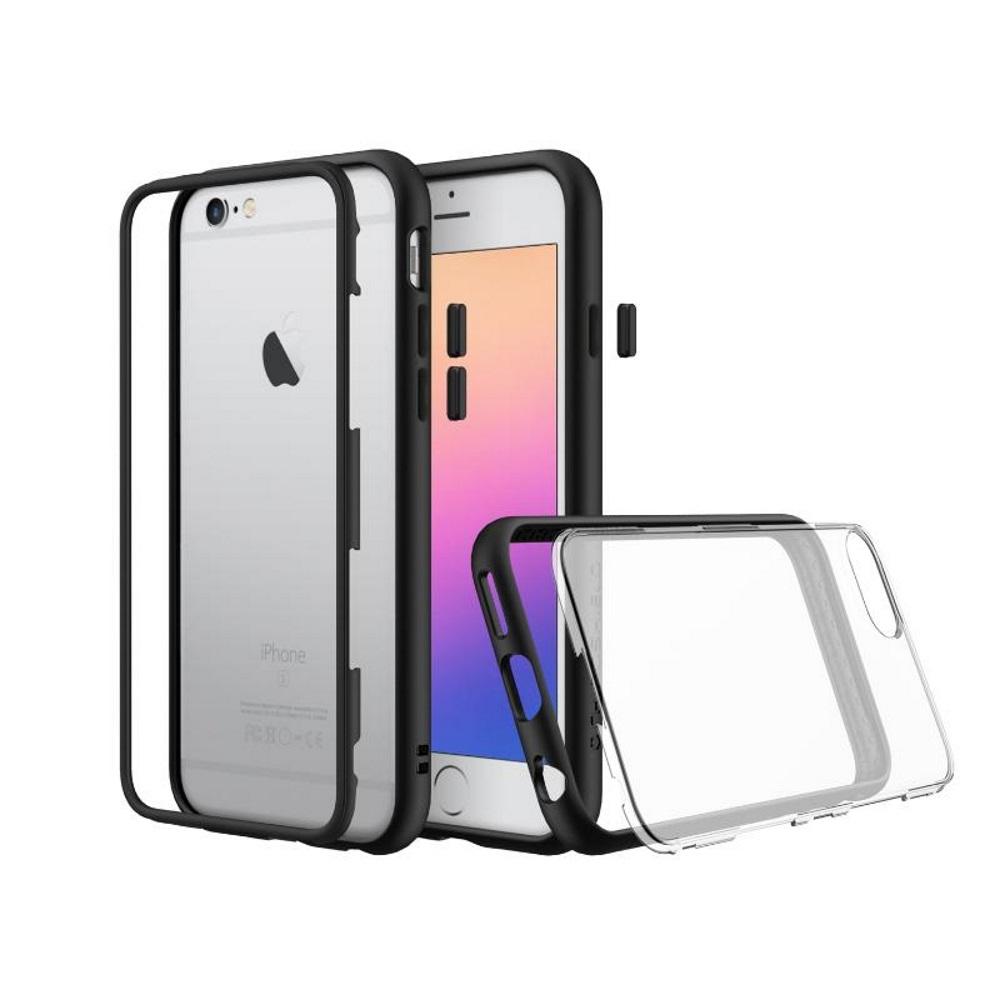 犀牛盾iPhone6s /iPhone6 MOD防摔背蓋手機殼 黑