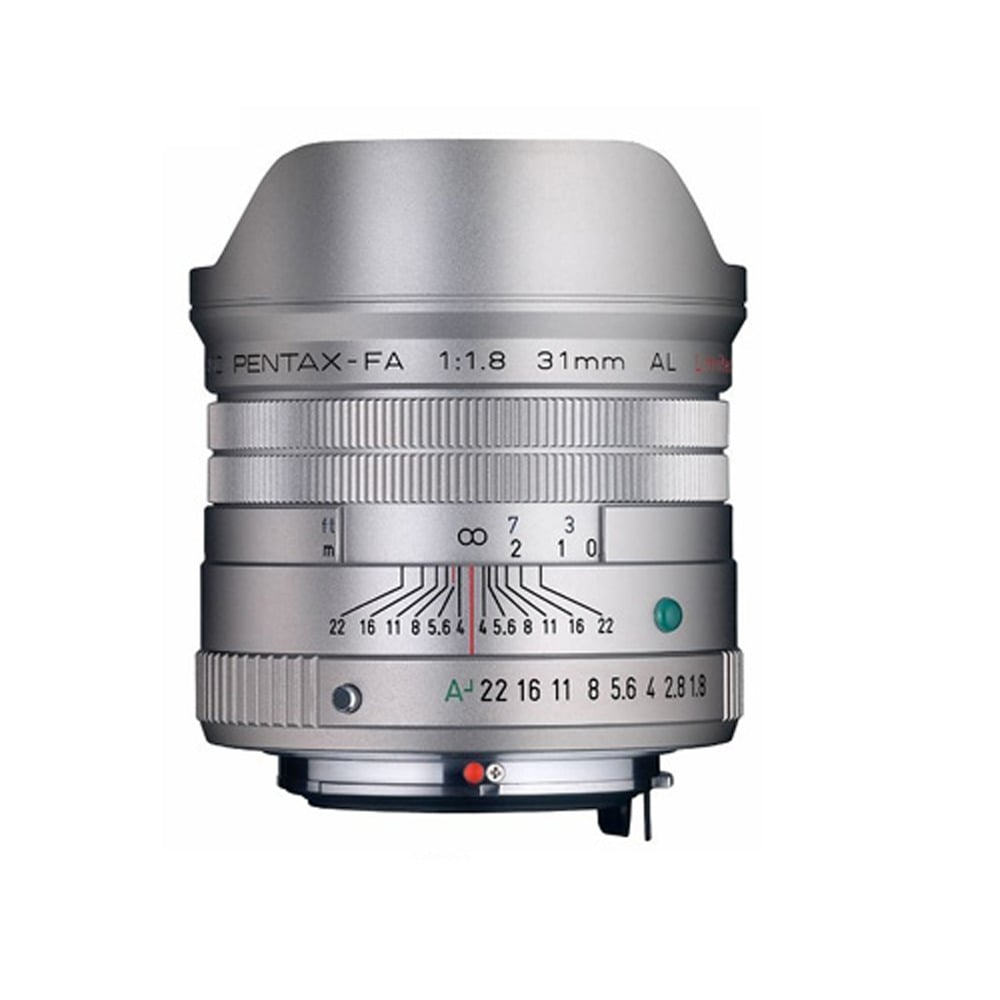 PENTAX SMC FA 31mm F1.8 AL Limited_銀色【公司貨】