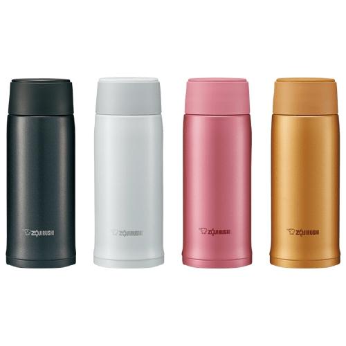 【象印ZOJIRUSHI】0.36L可分解杯蓋不鏽鋼真空保溫杯-PA粉紅色 SM-NA36-PA
