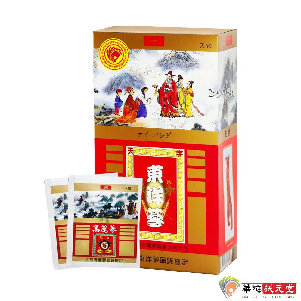 華陀扶元堂-東洋蔘沖泡茶包1盒(35包/盒)