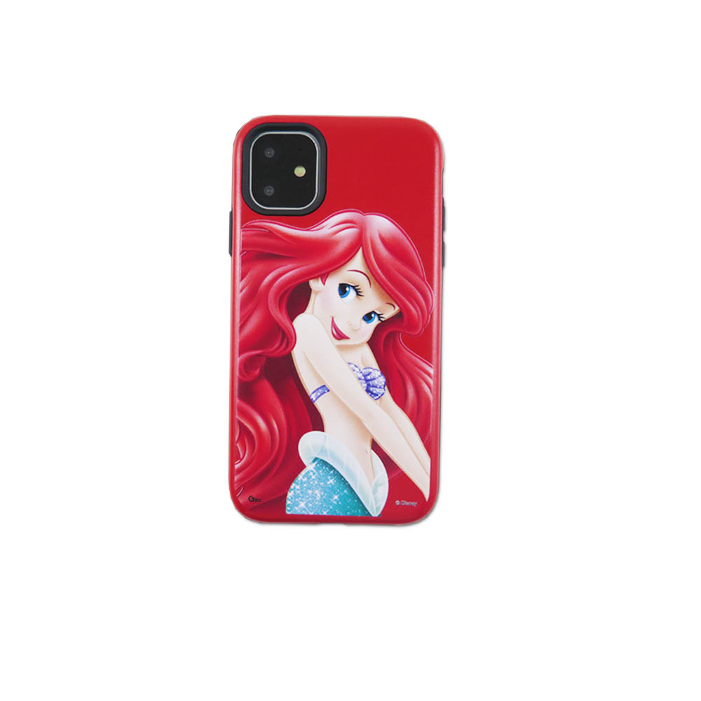 Disney迪士尼iPhone11Promax系列磨砂雙料殼_小美人魚