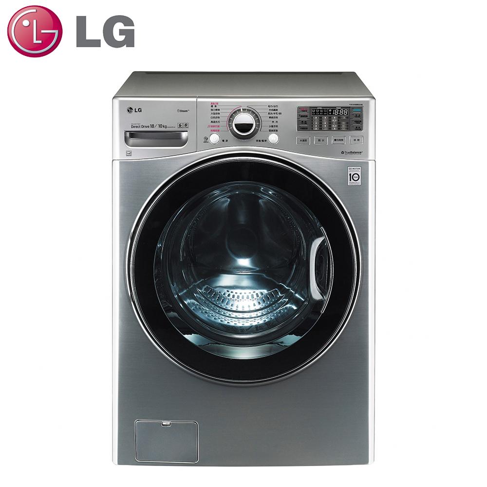原廠好禮送★【LG樂金】18公斤變頻滾筒式洗衣機WD-S18VCD