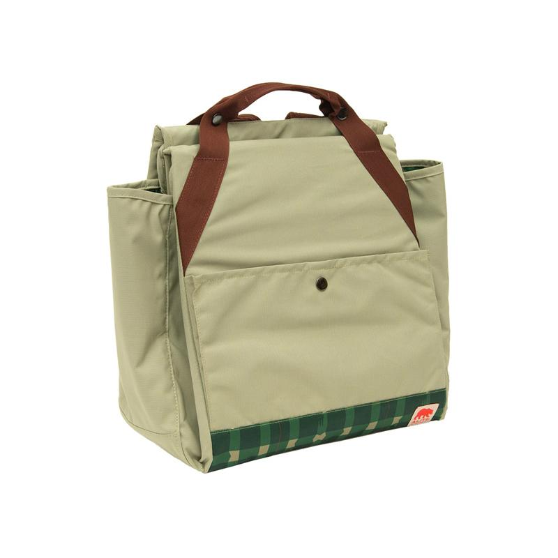 【美國 ALITE】Meadow 2用野餐墊/袋 格紋綠