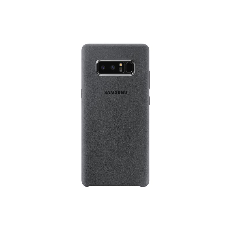 Samsung Galaxy Note8 Alcantara 義大利麂皮背蓋 灰色