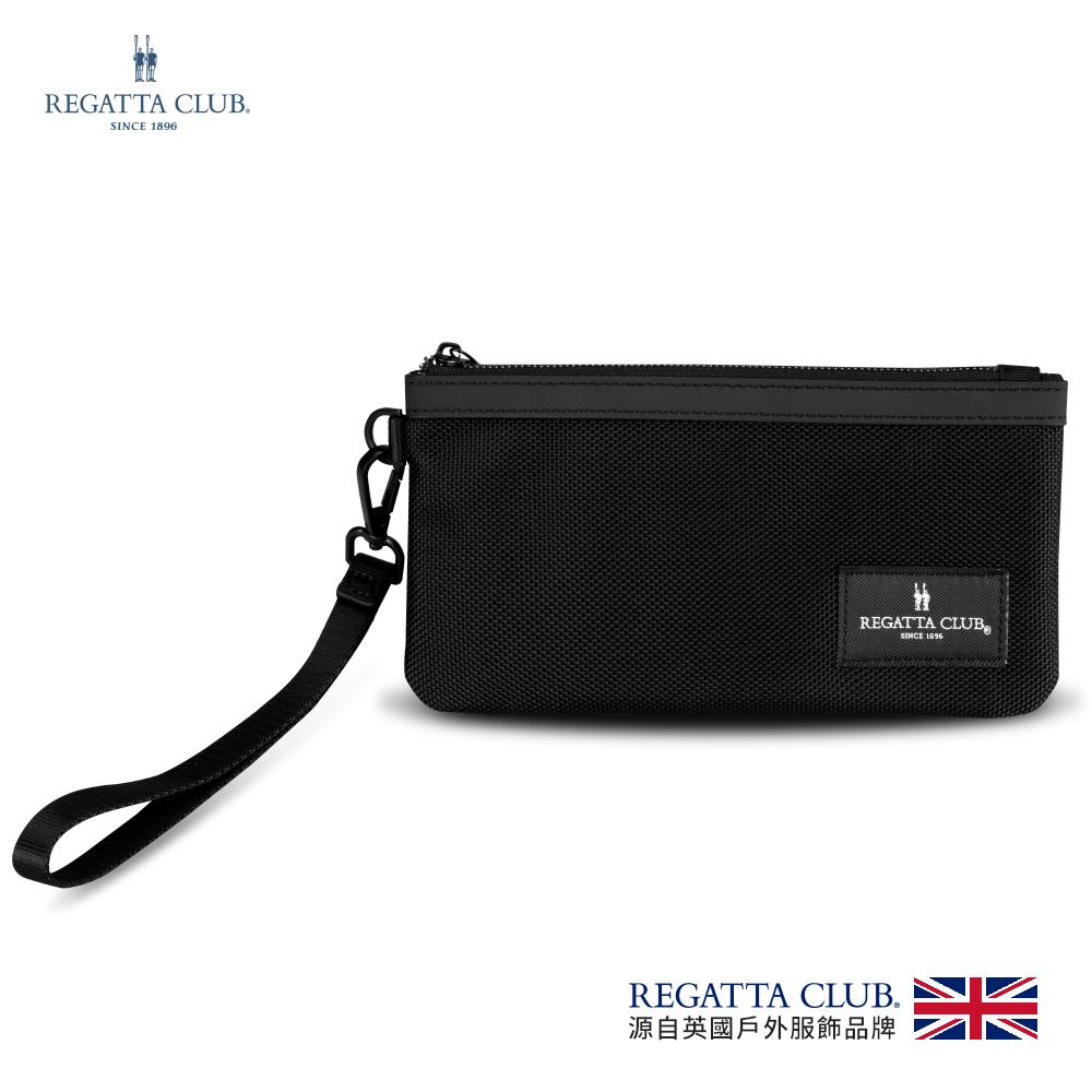 Regatta 雋永拉鍊護照包(RC-B98002-BK)