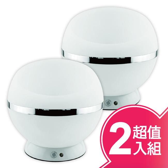 【虹瑞斯】LED感應時尚置物燈(二入超值組) KLED-88